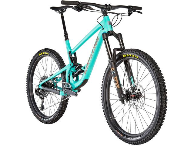Santa Cruz Bronson 3 AL S-Kit MTB Fullsuspension blå (2019)   MTB